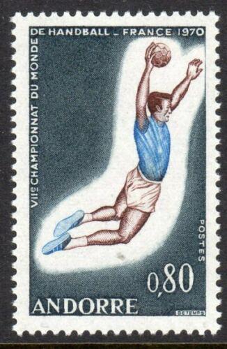 Poštovní známka Andorra Fr. 1970 MS v házené Mi# 221