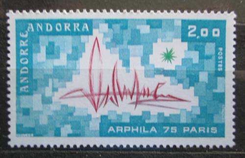 Poštovní známka Andorra Fr. 1975 Výstava ARPHILA Mi# 269