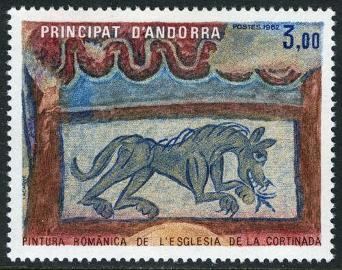 Poštovní známka Andorra Fr. 1982 Náboženské umìní Mi# 326