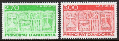 Poštovní známky Andorra Fr. 1996 Reliéf radnice v Andorra la Vella Mi# 493-94