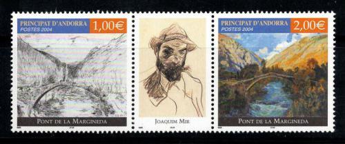 Poštovní známky Andorra Fr. 2004 Umìní Mi# 620-21