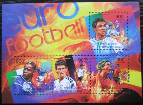 Poštovní známky SAR 2012 ME ve fotbale Mi# 3772-75 Kat 16€