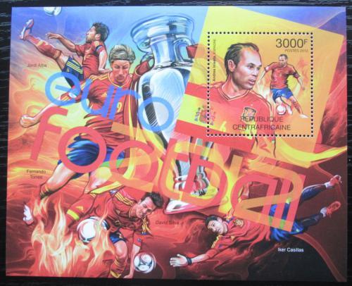 Poštovní známka SAR 2012 ME ve fotbale Mi# Block 971 Kat 14€