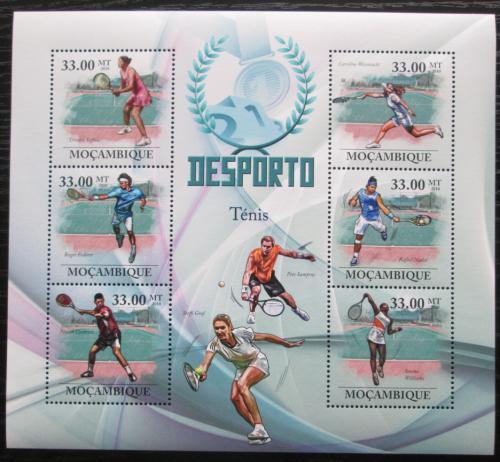Poštovní známky Mosambik 2010 Slavní tenisti Mi# 3842-47 Kat 10€