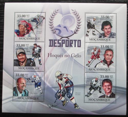 Poštovní známky Mosambik 2010 Slavní hokejisti Mi# 3764-69 Kat 10€