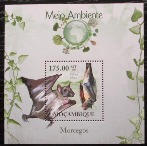 Poštovní známka Mosambik 2010 Netopýøi Mi# Block 303 Kat 10€