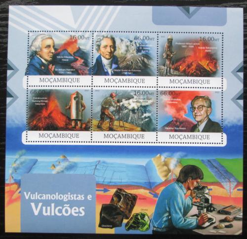 Poštovní známky Mosambik 2012 Vulkány a vulkanologové Mi# 6000-05 Kat 14€