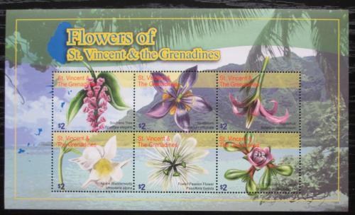Poštovní známky Svatý Vincenc 2010 Kvìtiny Mi# 6774-79 kat 9.50€