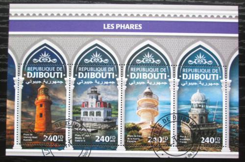 Poštovní známky Džibutsko 2018 Majáky Mi# N/N