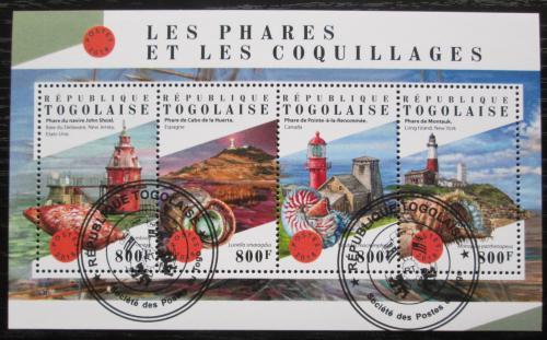 Poštovní známky Togo 2018 Majáky Mi# 9076-79 Kat 13€