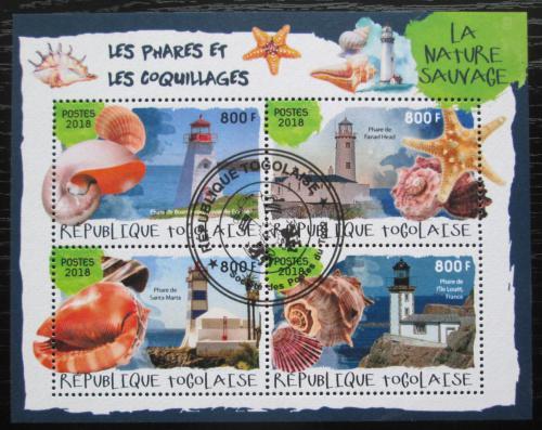 Poštovní známky Togo 2018 Majáky a mušle Mi# 9178-81 Kat 13€