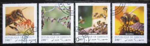 Poštovní známky Džibutsko 2018 Vèely Mi# N/N