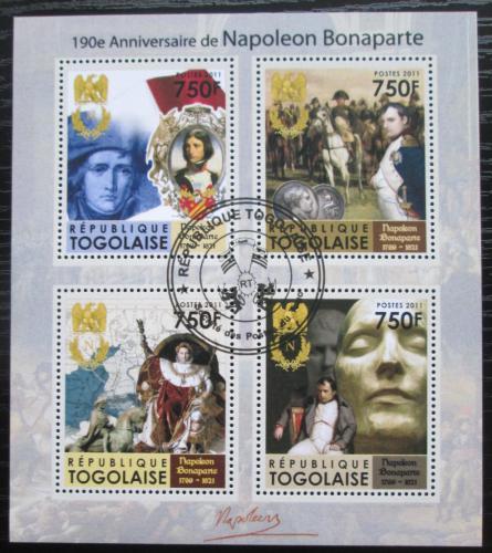 Poštovní známky Togo 2011 Napoleon Bonaparte Mi# 3999-4002 Kat 12€