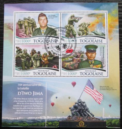 Poštovní známky Togo 2015 Bitva o Iwodžimu Mi# 6834-37 Kat 16€