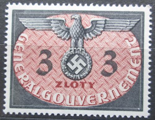 Poštovní známka Polsko 1940 Orlice, okupaèní, úøední Mi# 14 Kat 5€
