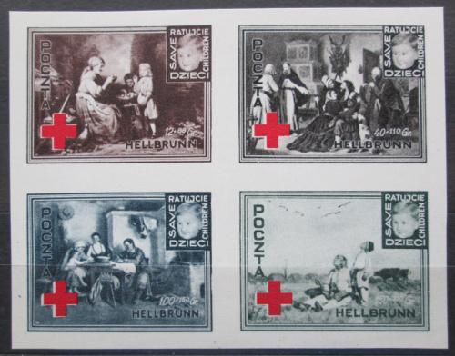 Poštovní známky Polsko 1946 Èervený køíž, charitativní VZÁCNÉ