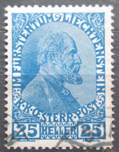 Poštovní známka Lichtenštejnsko 1917 Kníže Jan II. Mi# 9