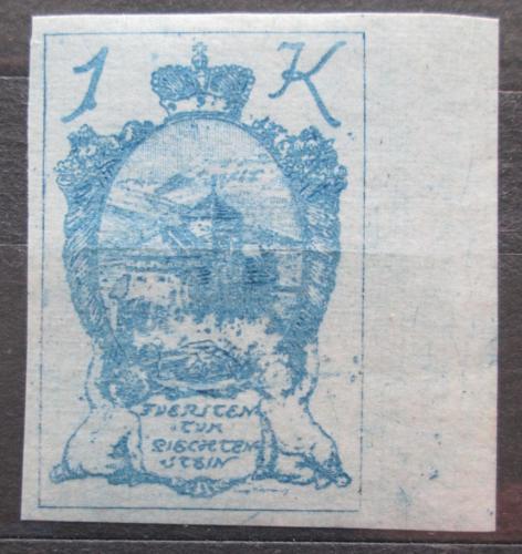 Poštovní známka Lichtenštejnsko 1920 Hrad Vaduz Mi# 24