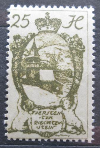 Poštovní známka Lichtenštejnsko 1920 Kaple v Triesenu Mi# 29