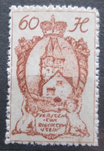 Poštovní známka Lichtenštejnsko 1920 Èervený dùm ve Vaduzu Mi# 33