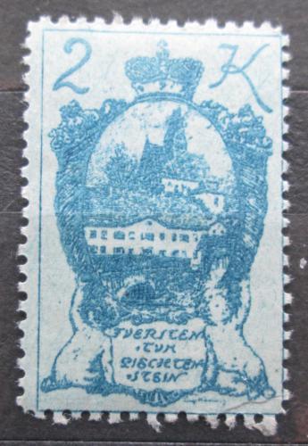 Poštovní známka Lichtenštejnsko 1920 Bendern am Rhein Mi# 36