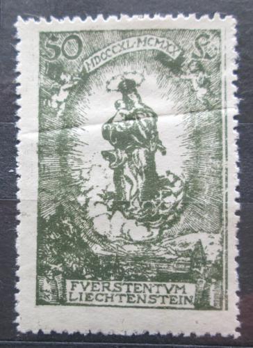 Poštovní známka Lichtenštejnsko 1920 Panna Marie Mi# 40