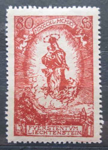 Poštovní známka Lichtenštejnsko 1920 Panna Marie Mi# 41