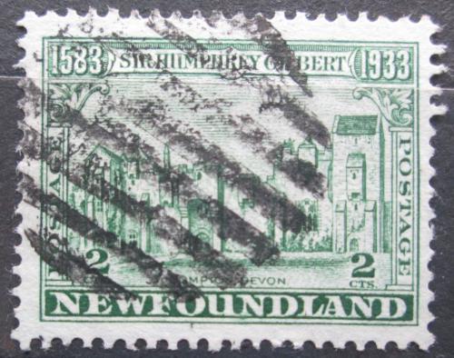 Poštovní známka Newfoundland 1933 Zámek Compton Mi# 201