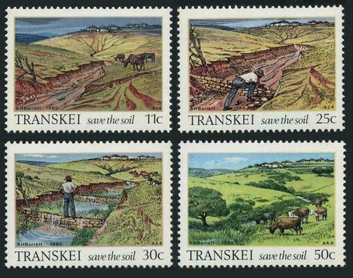 Poštovní známky Transkei, JAR 1985 Ochrana pùdy Mi# 163-66