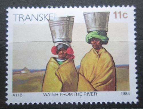 Poštovní známka Transkei, JAR 1984 Transport vody Mi# 147