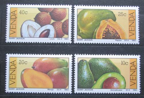 Poštovní známky Venda, JAR 1983 Ovoce Mi# 82-85