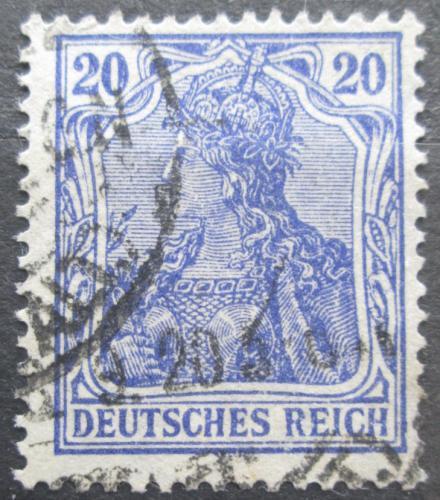 Poštovní známka Nìmecko 1915 Germania Mi# 87 II