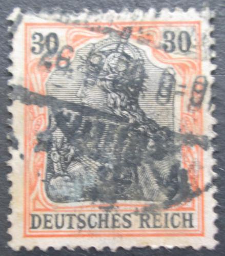 Poštovní známka Nìmecko 1915 Germania Mi# 89 II