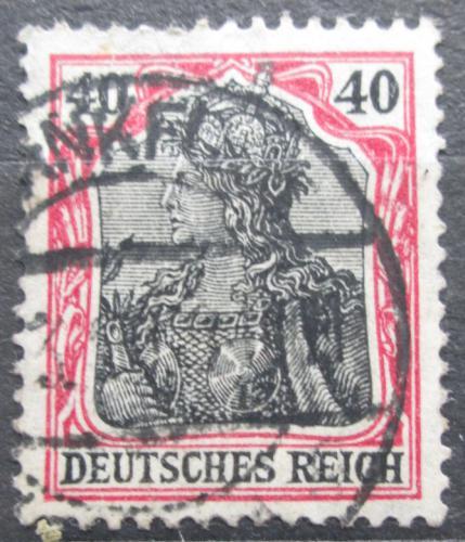 Poštovní známka Nìmecko 1915 Germania Mi# 90 II