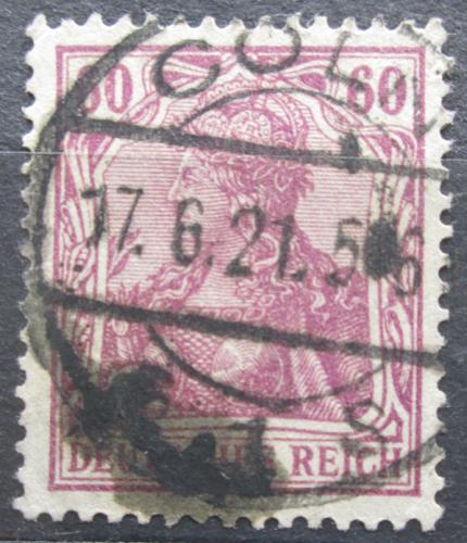 Poštovní známka Nìmecko 1915 Germania Mi# 92 II