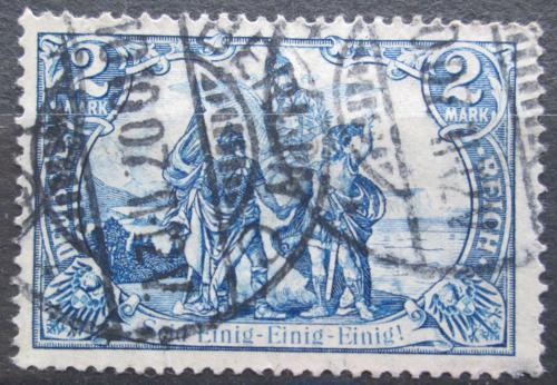 Poštovní známka Nìmecko 1905 Sever a jih Mi# 95 A I