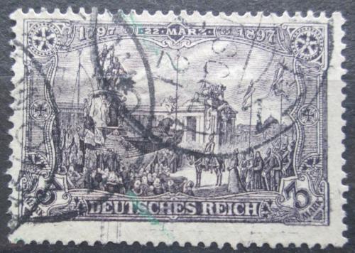 Poštovní známka Nìmecko 1918 Památník císaøe Viléma Mi# 96 B II Kat 6€
