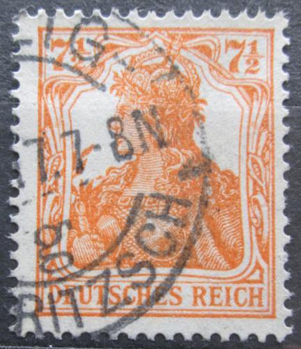 Poštovní známka Nìmecko 1916 Germania Mi# 99