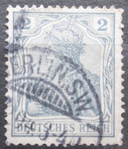 Poštovní známka Nìmecko 1918 Germania Mi# 102 Kat 5€