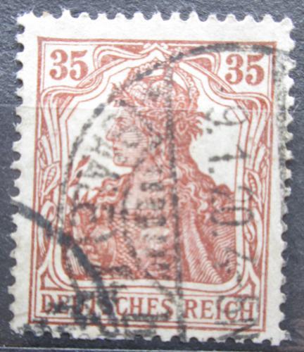 Poštovní známka Nìmecko 1918 Germania Mi# 103