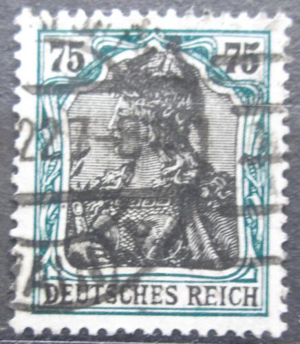Poštovní známka Nìmecko 1918 Germania Mi# 104