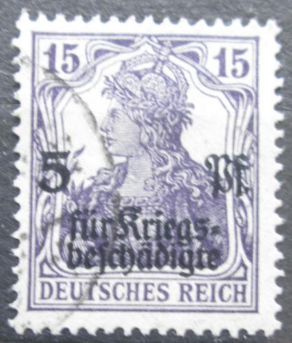 Poštovní známka Nìmecko 1919 Germania pøetisk Mi# 106 Kat 6€
