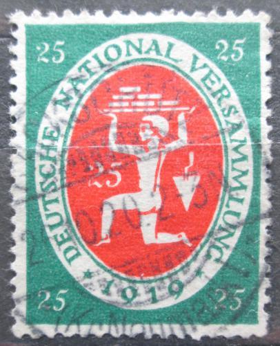 Poštovní známka Nìmecko 1919 Zedník Mi# 109