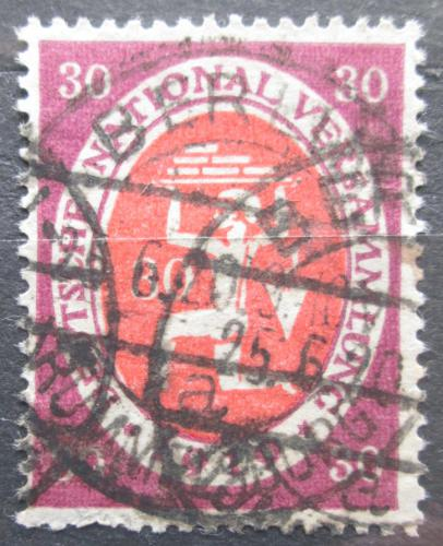 Poštovní známka Nìmecko 1919 Zedník Mi# 110