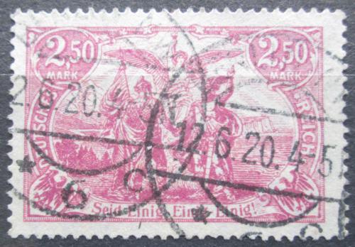 Poštovní známka Nìmecko 1920 Sever a jih Mi# 115