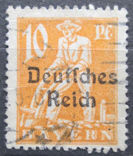 Poštovní známka Nìmecko 1920 Oráè pøetisk Mi# 120