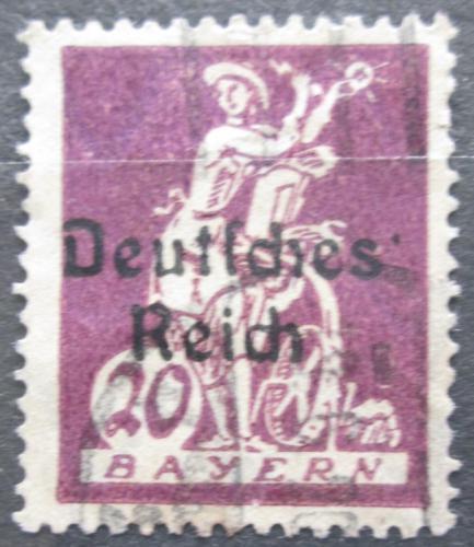 Poštovní známka Nìmecko 1920 Alegorie elektøiny Mi# 122