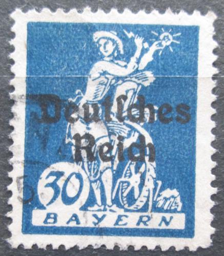 Poštovní známka Nìmecko 1920 Alegorie elektøiny Mi# 123