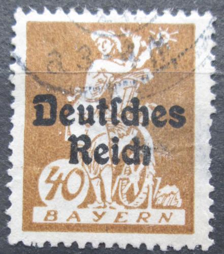 Poštovní známka Nìmecko 1920 Alegorie elektøiny Mi# 124