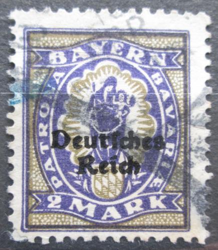 Poštovní známka Nìmecko 1920 Panna Marie Mi# 132 Kat 5€